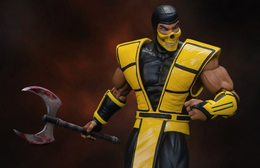 Storm Collectibles Unveils Scorpion Figure From 'Ultimate Mortal